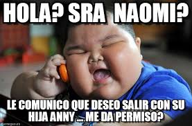 Naomi Meme - hola sra naomi asian fat kid meme on memegen
