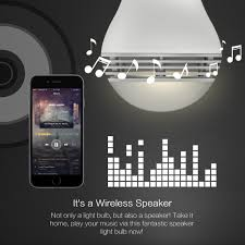 Led Light Bulb Dimmable by Aliexpress Com Buy Mipow Playbulb Bluetooth Speaker Smart