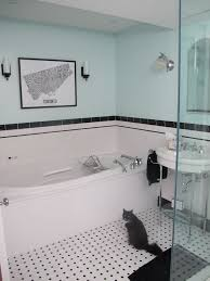 black and white bathroom tile ideas best 25 black white bathrooms ideas on classic style in