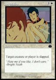 Bright Slap Meme - on dead seiyuu continuing world
