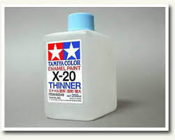 tamiya 80040 x20 enamel thinner 250ml large size for rc model