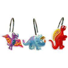 Shower Curtain Rings Walmart Dinosaur Friends Shower Curtain Hooks Walmart Com
