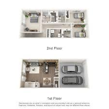 three bedroom townhouse floor plans rates u0026 floor plans townhomes on blackhawk landing