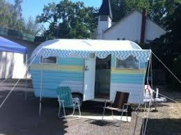 Vintage Trailer Awning Not Only Are We Mid Century Modern Inside Our Shop Outside Is Our