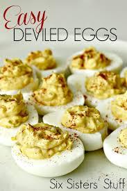 deviled egg dish easy deviled eggs recipe six stuff