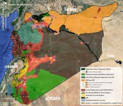 Map Of Syria And Turkey by Nawar Sh Oliver On Twitter