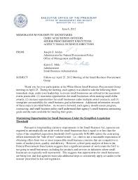 executive office of the president obama june 6 2012 memo