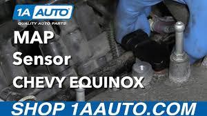 how to install replace map sensor 3 4l v6 2005 09 chevy equinox