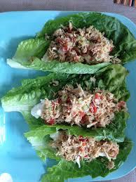 Cold Dinner Dukan Diet Lunch Or Dinner Lettuce Wrap