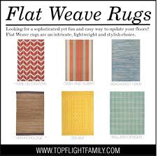 6 flat weave rugs you need for your home right now