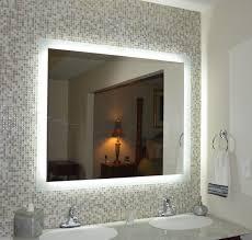 illuminated mirrors for bathrooms lovely lighted bathroom mirror lighted bathroom mirror with shaver
