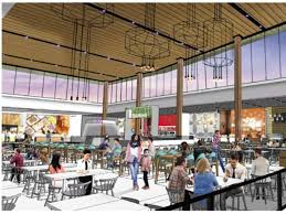 devonshire mall construction continues with food court