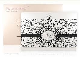 luxury wedding invitations luxury wedding invitations epoque black white