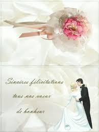 carte fã licitation mariage 20 best félicitations pour un mariage images on