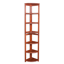 cherry corner bookcase concepts in wood midas double wide 6 shelf bookcase in cherry