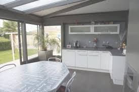 extension cuisine cuisine dans véranda extension de cuisine par une véranda with