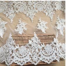 Lace Trim Curtains 3yards Lot Luxury Continental Car Bone Lace Wedding Dress