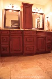 Maple Bathroom Vanity by Maple Auburn Glaze Bath Vanity Beautiful Cabinets For A Dream