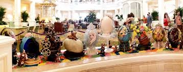 easter egg display photo tour easter egg display at disney world s grand floridian resort
