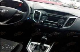 Hyundai Ix25 Interior Hyundai U0027s Compact Suv Ix25 Ford Ecosport Rival