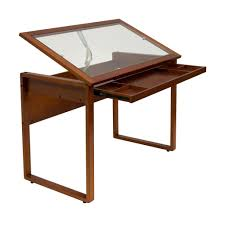 Glass Top Drafting Drawing Table Us A Led Artist Drawing Board Tracing Light Pad Box Picture With