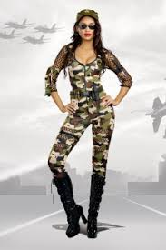 Army Halloween Costume Women Army Costumes Military Costume Army Costumes