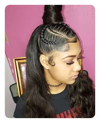 weave ponytails 52 weave ponytail ideas you are sure to