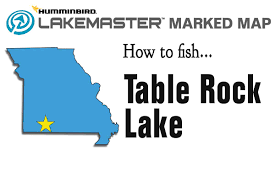table rock lake map table rock lake map midwest outdoors marked maps