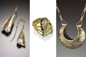 mokume gane object mixed metal mokume gane jewelry in maine take magazine