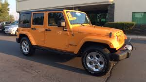 orange jeep wrangler for sale used cars on buysellsearch