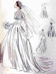vintage wedding dress patterns the wedding designer so vintage patterns