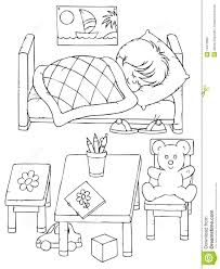 sleeping coloring page best coloring page 2017