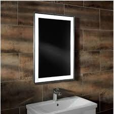 bathroom mirror heated illuminated bathroom mirrors uk bathrooms