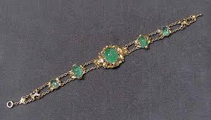 emerald bracelet images Victorian cabochon emerald bracelet viauestatejewelry jpg