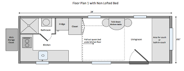 house floor plan standard tiny home wind river tiny homes