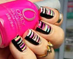 fan brush striped nail art tutorial youtube sally beauty nail art