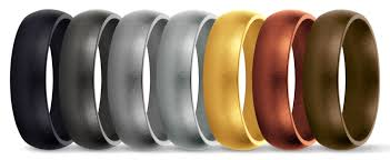 rubber wedding rings saferingz features original silicone wedding band and rubber
