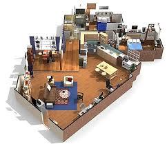 tv show apartment floor plans 12 best famous tv shows apartments in 3d images on pinterest