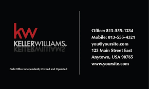 captivating keller williams business card templates 83 with