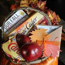 themed gift i fall for you gift basket