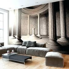 trompe l oeil chambre papier peint mural trompe l oeil trompe l oeil mural interieur