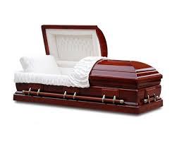 wood caskets solid cherry casket monticello fastcaskets