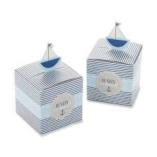 baby shower favor boxes kate aspen baby on board pop up sailboat favor box