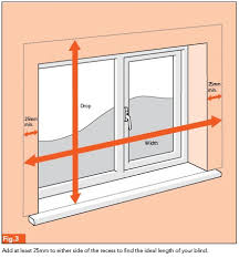 Venetian Blinds Inside Or Outside Recess How To Fit Blinds Wilkolife