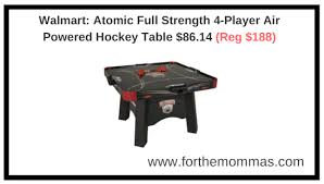 air powered hockey table walmart atomic full strength 4 player air powered hockey table