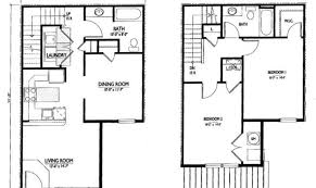 simple two bedroom house plans best of 19 images simple two story house plans building plans