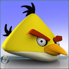 max angry bird character cartoon