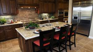 Kitchen With Dark Cabinets Best Kitchen Paint Colors With Dark Cabinets All About House Design