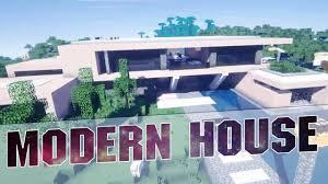 Modern House Minecraft Minecraft Beautiful Modern House Cinematics Modern House With