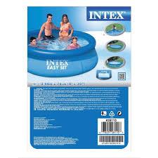 intex 8ft easy up pool pools u0026 sand pits uk